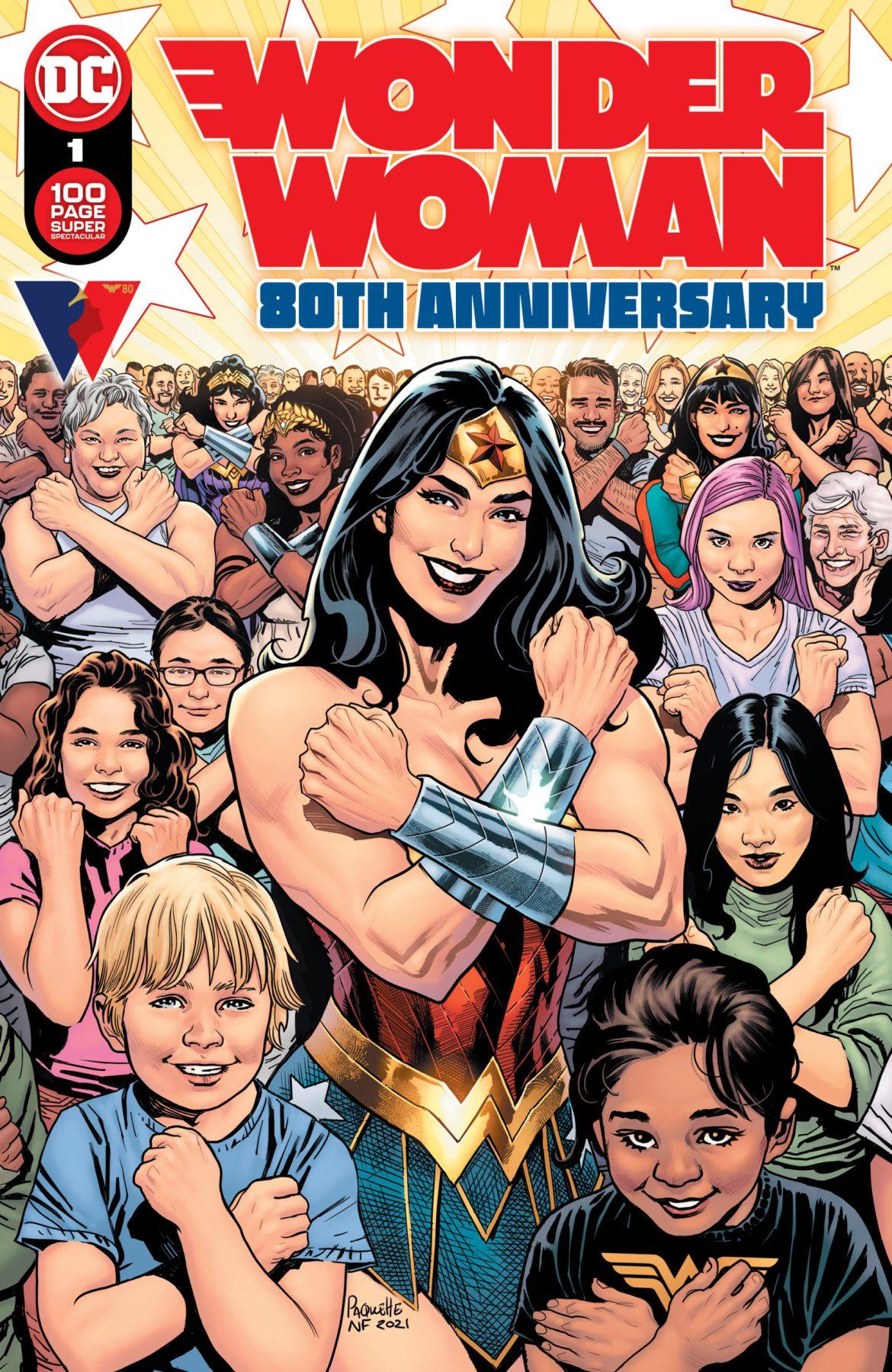 Wonder Woman 80th Anniversary Believe in Wonder