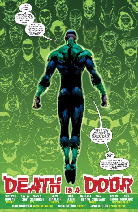 Green Lantern #2 DC Comics News