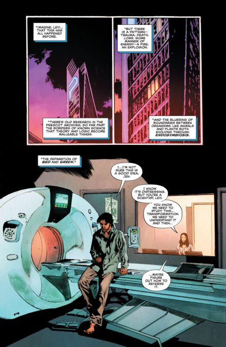 The Swamp Thing #3 DC Comics News