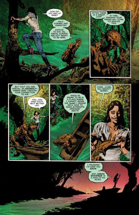 The Swamp Thing 4 DC Comics News