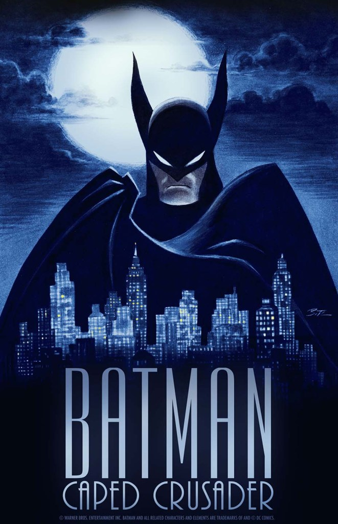 Batman caped crusader animated series poster
