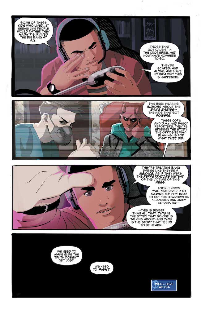 Review: Static: Season One #1 DC Comics News Reviews