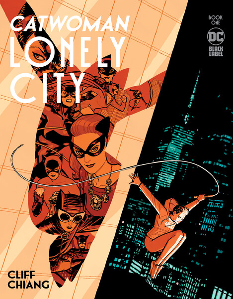 Catwoman Lonely City Black Label