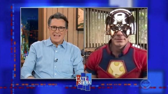 John Cena talks The Suicide Squad on Colbert