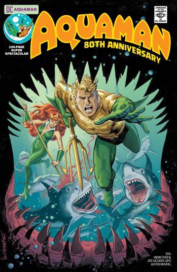 Aquaman 80th Anniversary Garcia-Lopex DC Comics News