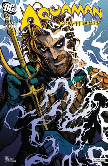 Aquaman 80th Anniversary DC Comis News