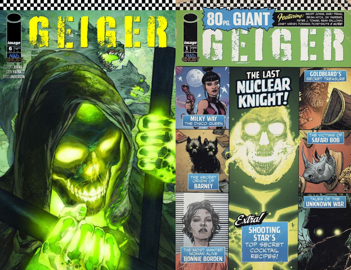 Geiger #6 Variant C and November's 80 Page Giant