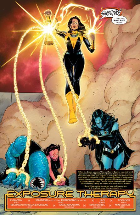 Green Lantern 2021 Annual DC Comics News