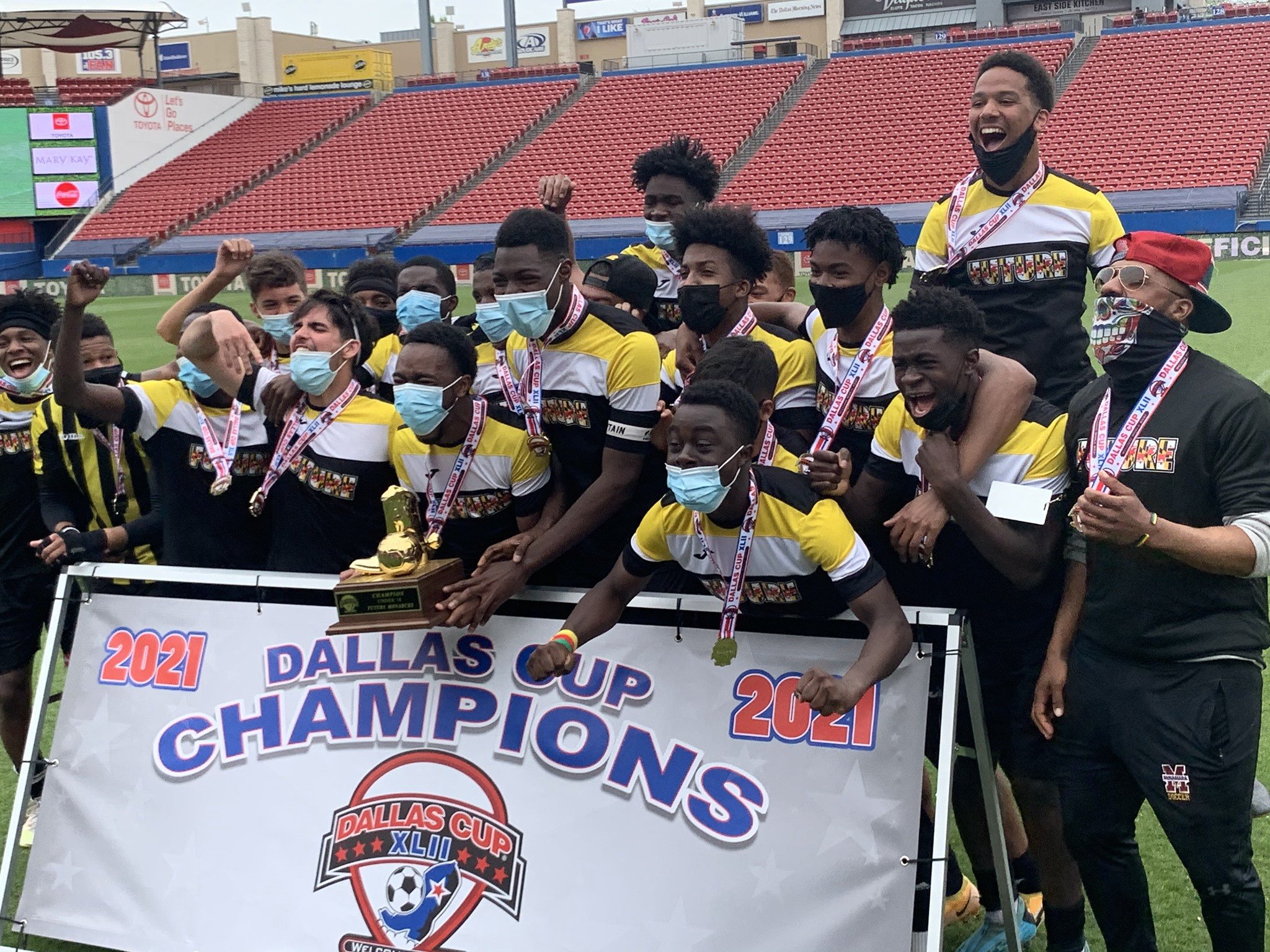 Dallas Cup winners U-18 Future Soccer Club to feature at the D.C. Cup