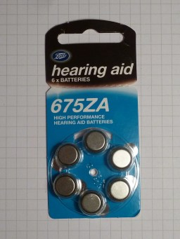 Boots' finest hearing aid batteries