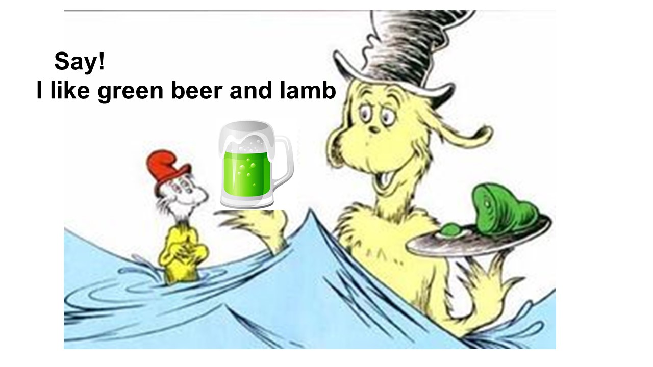 Green Beer and Lamb pic