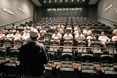 11 May 2017: Views of the Dallas Cowboys rookies during their first day of meetings and physicals at The Star in Frisco, Texas. Photo by James D. Smith/Dallas Cowboys