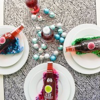 An Easy Holiday Tablescape with IZZE