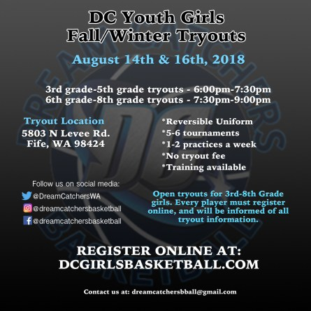 Youth Tryout Flyer