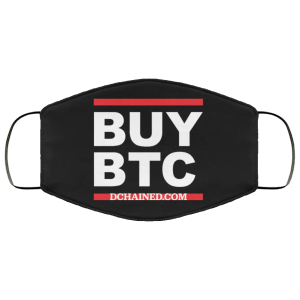 BTC Face Masks By Dchained