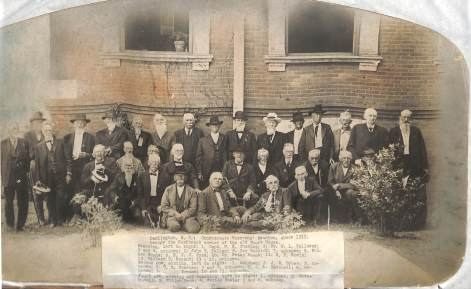 Darlington, Confederate Veterans' reunion 1912