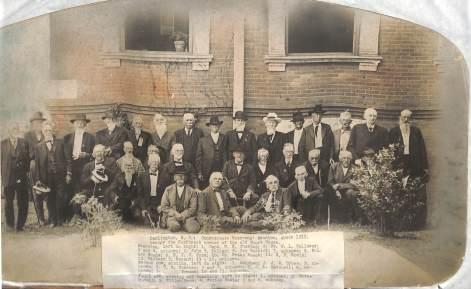Darlington, Confederate Veterans' reunion 1912