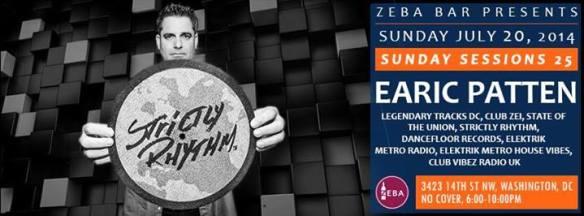 Zeba Sunday Sessions 25 | Earic Patten