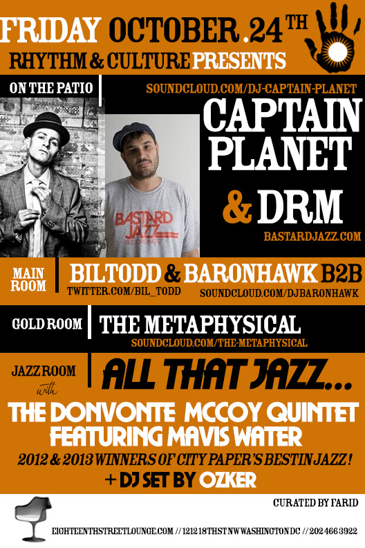 ESL Fridays: Rhythm & Culture presents Captain Planet & DRM