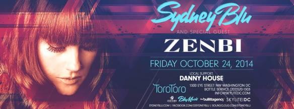 Sydney Blu, Zenbi, Danny House at Toro Toro