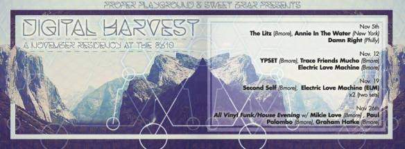 Digital Harvest: An All Vinyl Funk/House evening at the 8x10, Baltimore