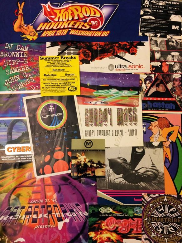 Back in the Day featuring DJ Dan, Baggadonuts, Buster and Ray Casil at U Street Music Hall