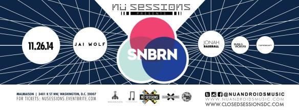 Nü Sessions Present - SNBRN, Jai Wolf, Jonah Baseball, Man & Women, Namsterdam at Malmaison