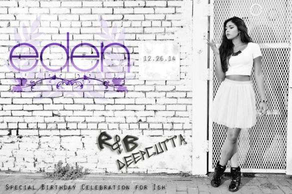 Eden Underground with R&B & DeepCutta at Eden