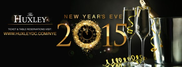 New Year's Eve 2015 with DJ Amen Ra and Heather Femia at The Huxley
