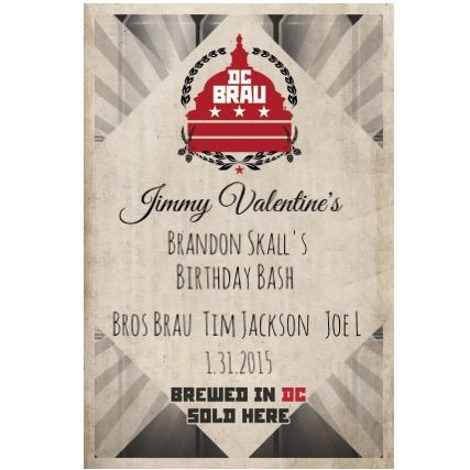 DC Brau hosts Brandon Skall's Birthday at Jimmy Valentines