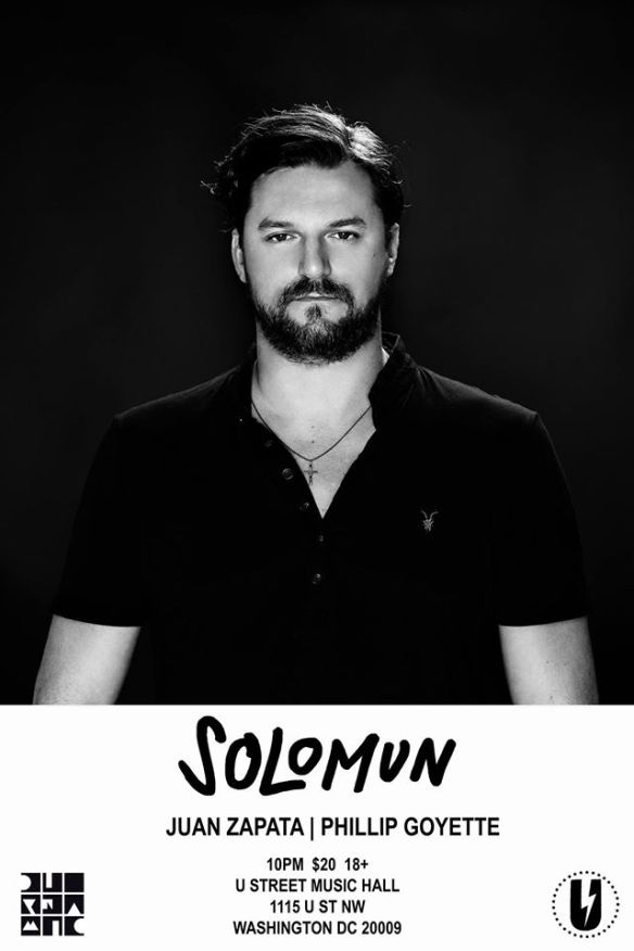 Solomun with Juan Zapata, Philip Goyette at U Street Music Hall