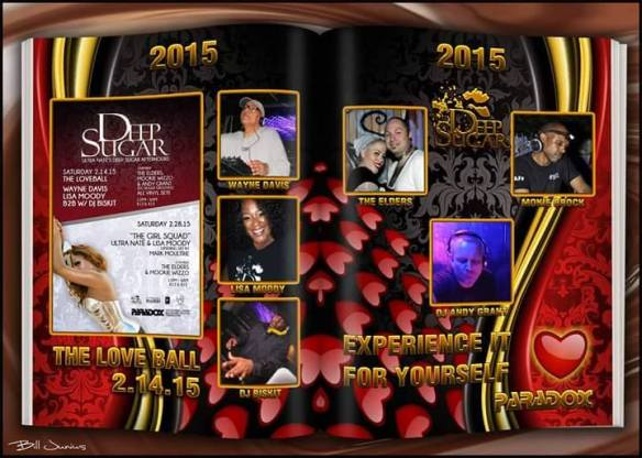Deep Sugar Valentine's Day Love Ball at the Paradox, Baltimore
