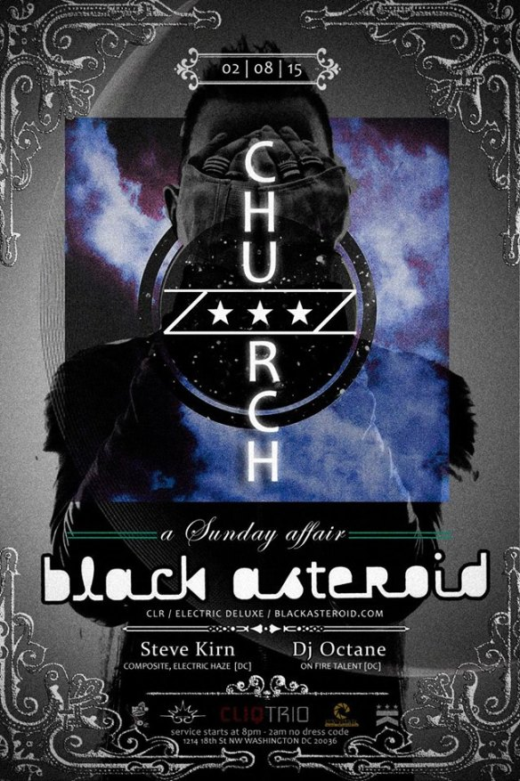 Church presents Black Asteroid at Public Bar