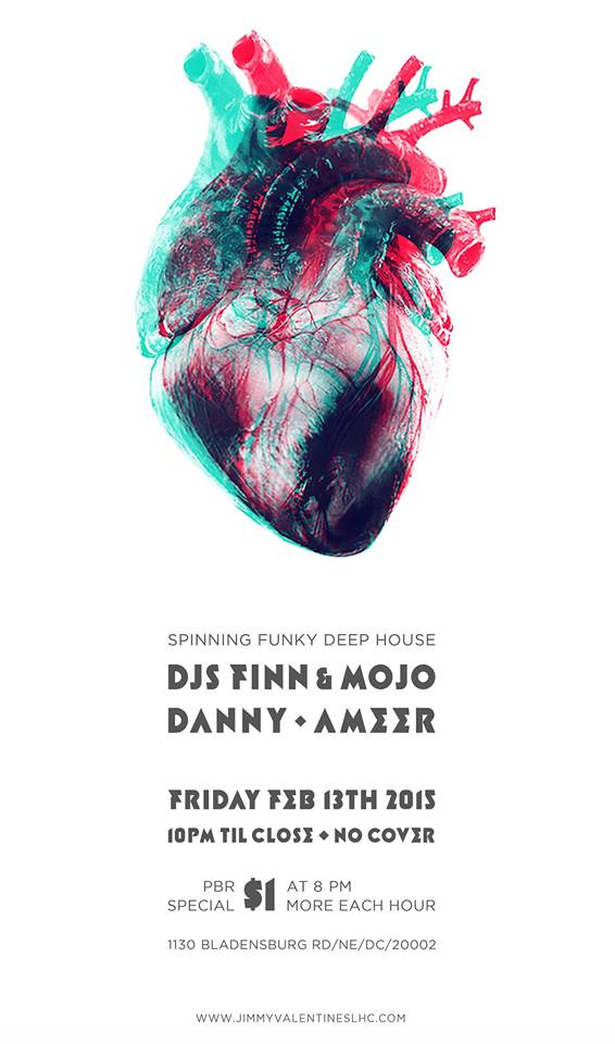 Pre Valentine's Day Funk at Jimmy Valentine's Lonely Hearts Club