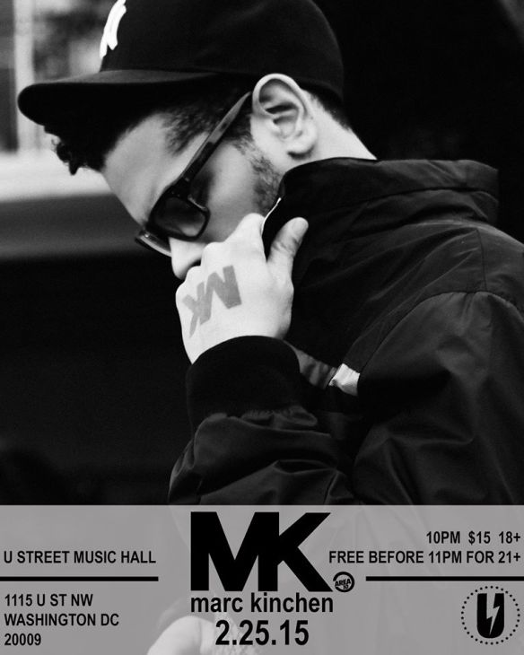 MK with Beckwith & DJ Nav at U Street Music Hall
