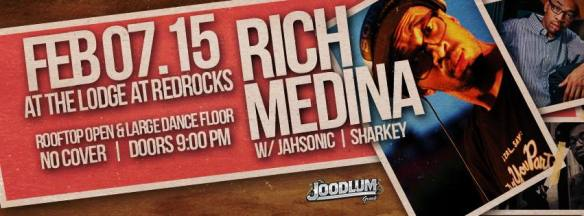 Rich Medina w/JahSonic at The Lodge at Red Rocks