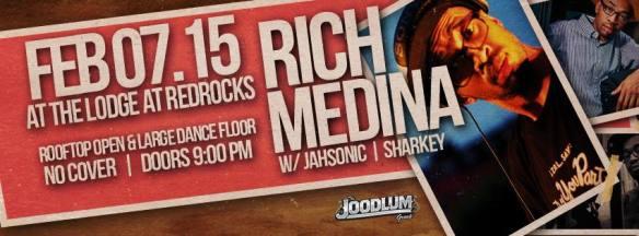Rich Medina w/JahSonic at The Lodge at Red Rocks
