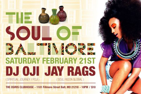 The Soul of Baltimore (TSOB) - The Movement Continues at The Clubhouse, Baltimore