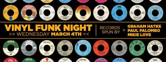 Vinyl Funk Night with Graham, Paul Palombo & Mikie Love at the 8x10, Baltimo