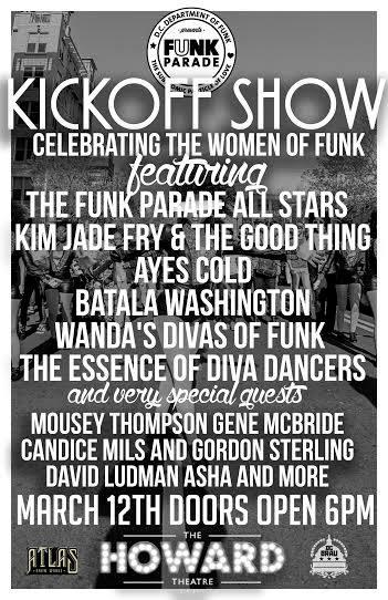 Funk Parade Kickoff Party! at The Howard Theater