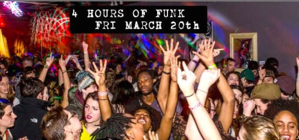4 Hours of Funk with Graham & Fleg at The Windup Space, Baltimore