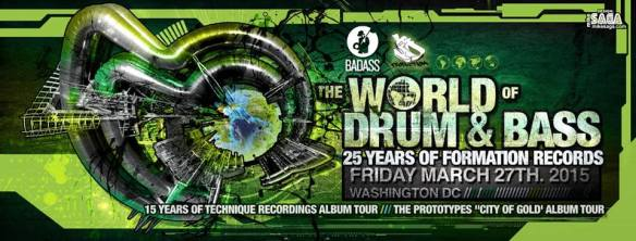 World of Drum & Bass: 25 Years of Formation Records at Café Asia
