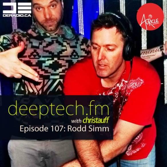 THU 4/23 DeepTechFM 107 featuring Rodd Sim on www.deradio.caTHU 4/23 DeepTechFM 107 featuring Rodd Sim on www.deradio.ca