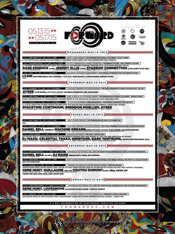 FORWARD Festival 2015: Infinity