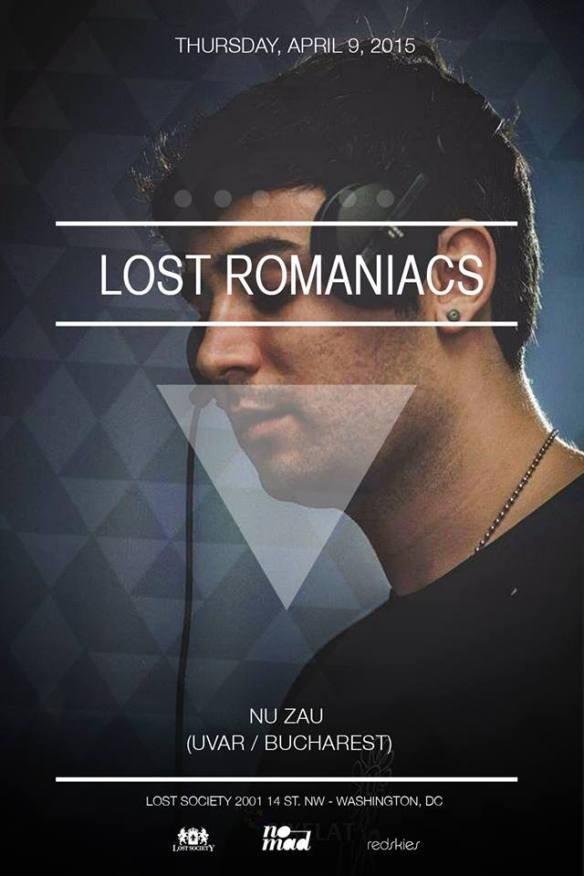 Lost on Thursdays Lost Romaniacs feat. Nu Zau (UVAR / Bucharest) at Lost Society