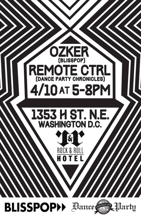 Ozker & Remote Ctrl at the Rock&Roll Hotel Rooftop