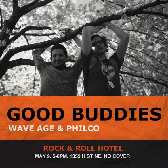 Good Buddies w. Philco & Wave Age at Rock'n'Roll Hotel Rooftop