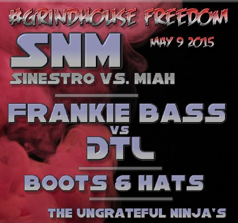 #GrindHouse Freedom with SnM aka Sinestro vs. Miah Special Vinyl Set! at The Mellow Mushroom, Herndon