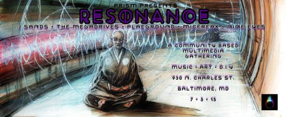 Resonance w/ J Sands, Plaeground, Megadrives, Micfreak, Nine Eyes & More at the Red Maple, Baltimore