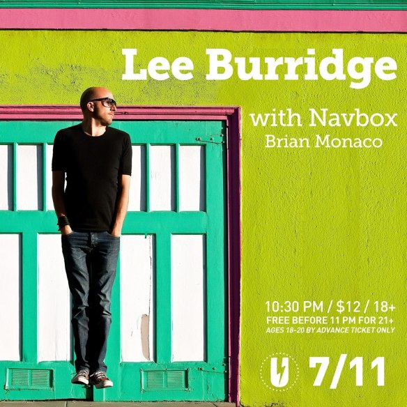 Lee Burridge with Navbox, Brian Monaco at U Street Music Hall
